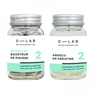 D-LAB nutricosmetics Duo Hair Nutrition 28days treatment