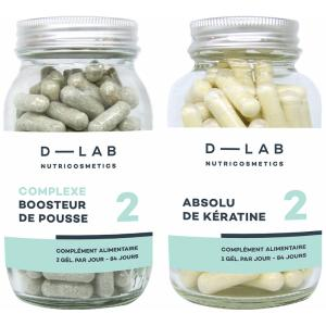 D-LAB nutricosmetics Duo Hair Nutrition Expertise 3x28 days treatment