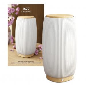 Jazz ultraääni-diffuusori bambu/keramiikka