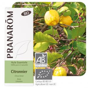 Pranarôm Lemon essential oil (Citrus limon) 10 ml