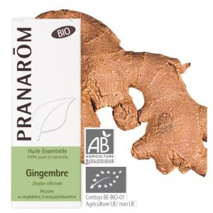 Pranarôm Ginger essential oil (Zingiber officinale) 5 ml