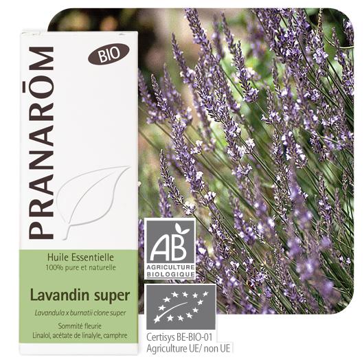 Pranarôm Lavendin essential oil (Lavandula x burnatii clone super) 10 ml