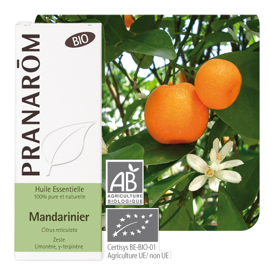 Pranarôm Mandarin essential oil (Citrus reticulata) 10 ml