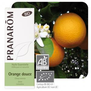 Pranarôm Essential oil Citrus sinensis Sweet Orange Organic 10 ml