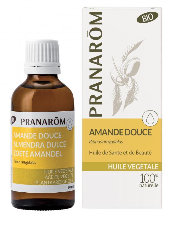 Pranarôm Sweet Almond vegetable Oil (Prunus amygdalus) 50 ml