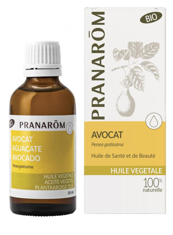 Pranarôm Avocado vegetable Oil (Persea gratissima) 50 ml