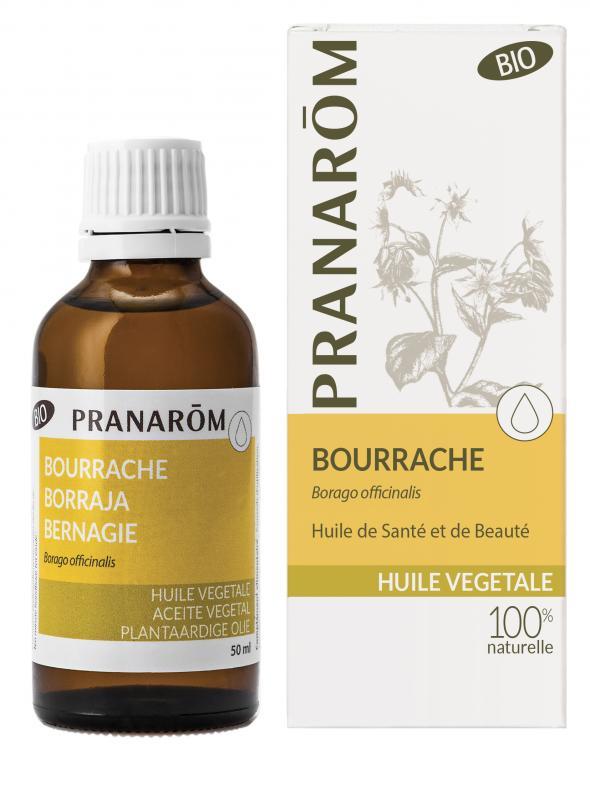 Pranarôm Borage vegetable Oil (Borago officinalis) 50 ml