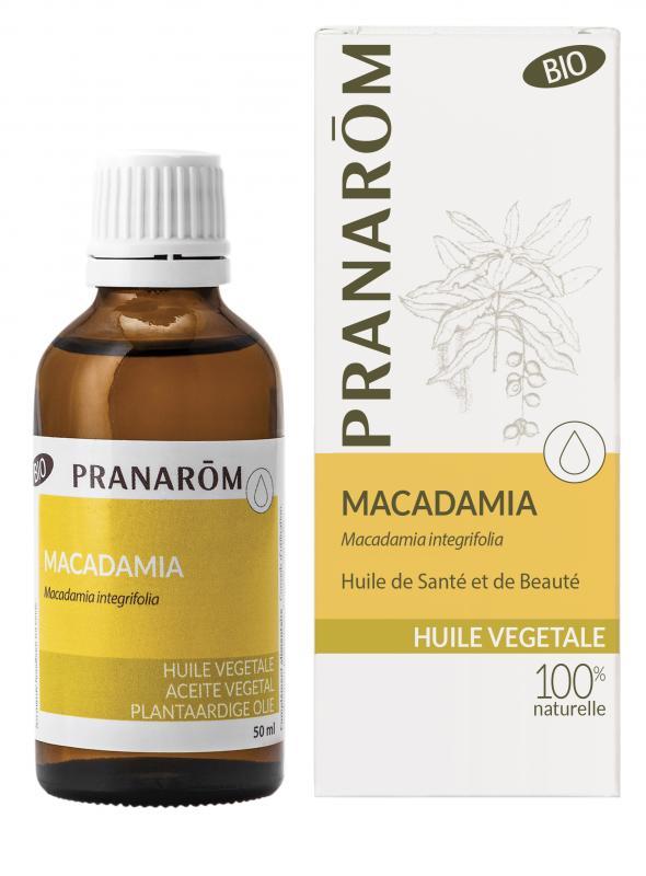 Pranarôm Macadamia vegetable oil (Macadamia ternifolia) 50 ml