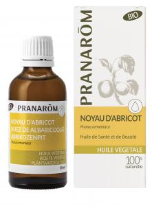 Pranarôm Apricot Kernel Nut vegetable Oil (Prunus armeniaca) 50 ml