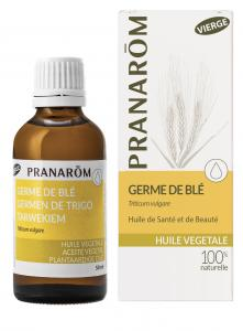 Pranarôm Wheat Germ vegetable oil (Triticum vulgare) 50 ml