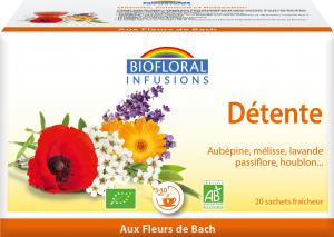 Biofloral Infusion with Bach Flowers Relaxation 20 bags