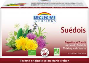 Biofloral Traditional Swedish Infusion - Digestion 20 bags