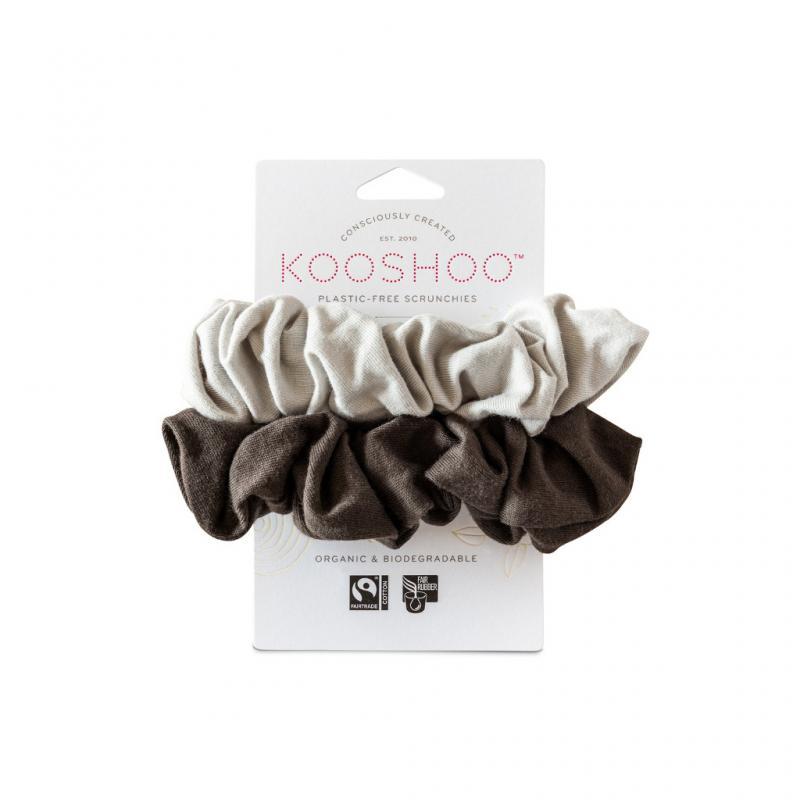 Organic Scrunchies by KOOSHOO - Moon Shadow