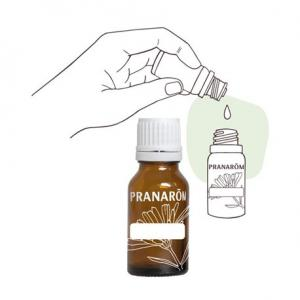 Pranarôm Empty glass bottle  for essential oils 10 ml