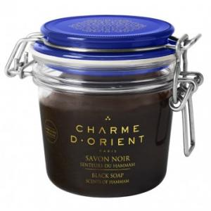 Charme d'Orient Black soap Scents of Hammam 200 g
