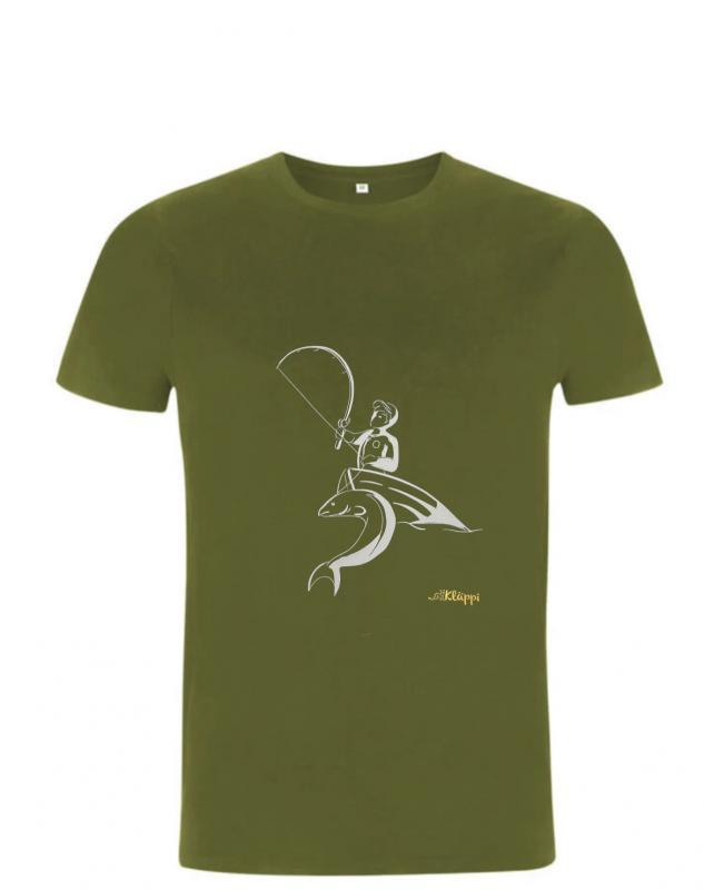 Kläppi t-shirt fiska unisex
