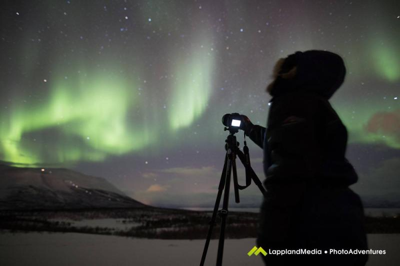Fotografera Norrsken