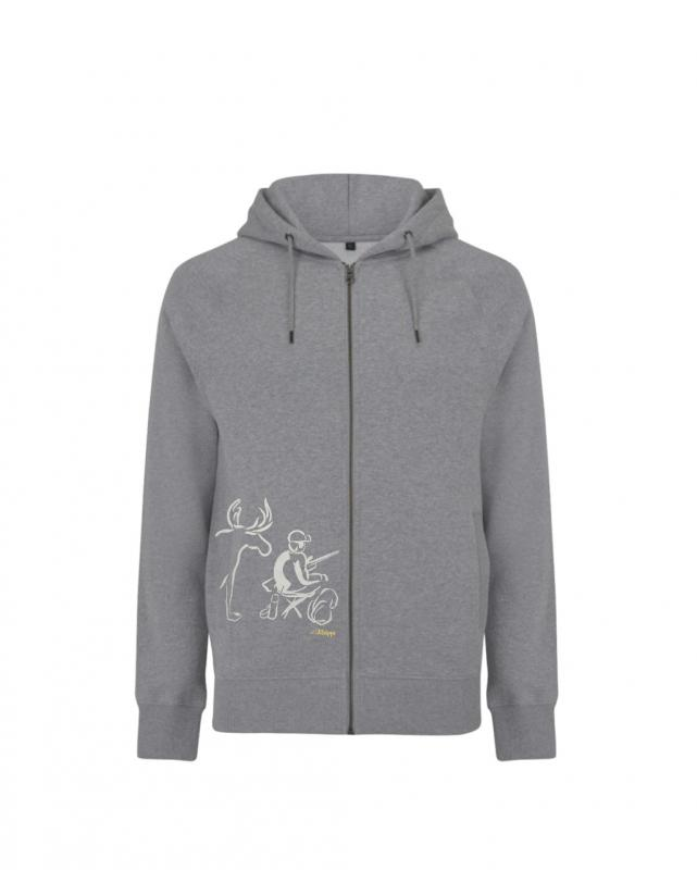 Kläppi Zip hoodie jaga unisex