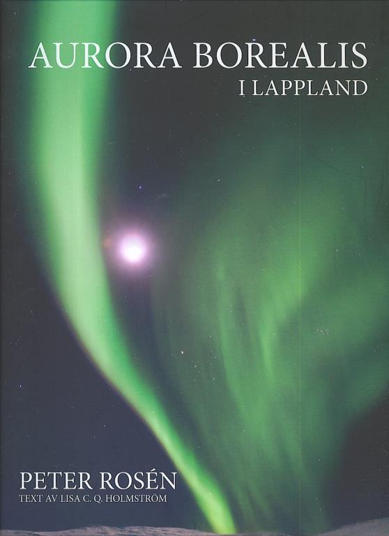 Bok Aurora Borealis i Lappland