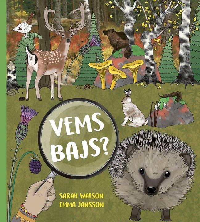 Barnbok-vems bajs av Sarah Watson och Emma Jansson