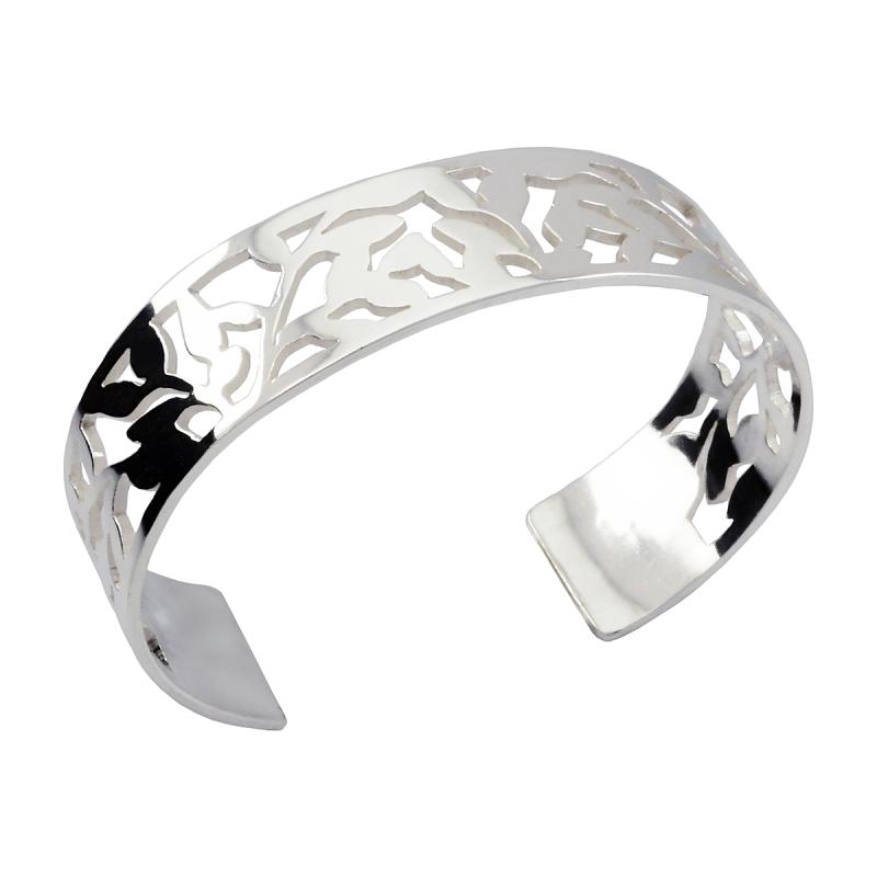 Stelt armband av Sterlingsilver 925 med form av Blåbärsris