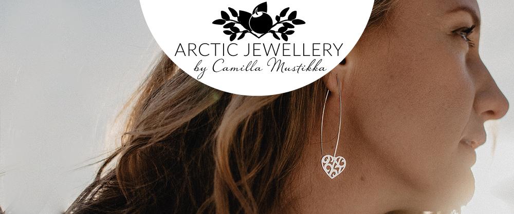 Camilla Mustikka varumärke Arctic Jewellery från Kiruna