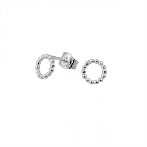 Silverörhängen stift mini