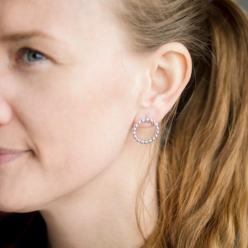 Örhängen från Camilla Mustikka Arctic Jewellery av Sterlingsilver 925