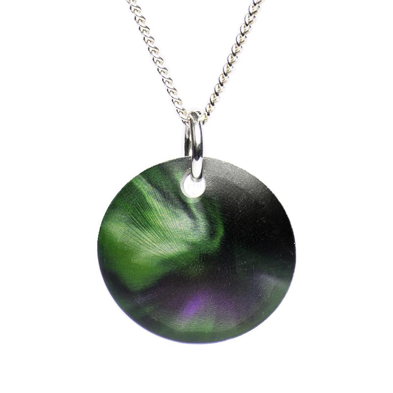 Aurora Borealis halsband 30 mm