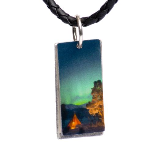Aurora borealis halsband Lavvu