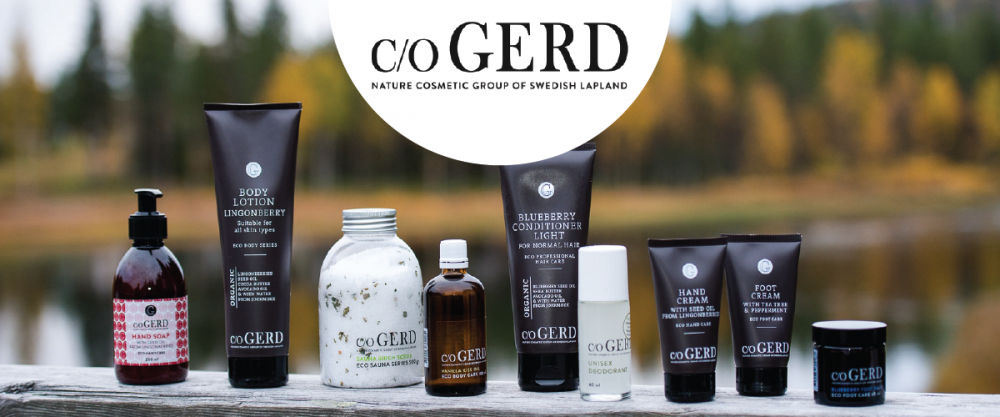 Ekologisk hudvård från care of Gerd