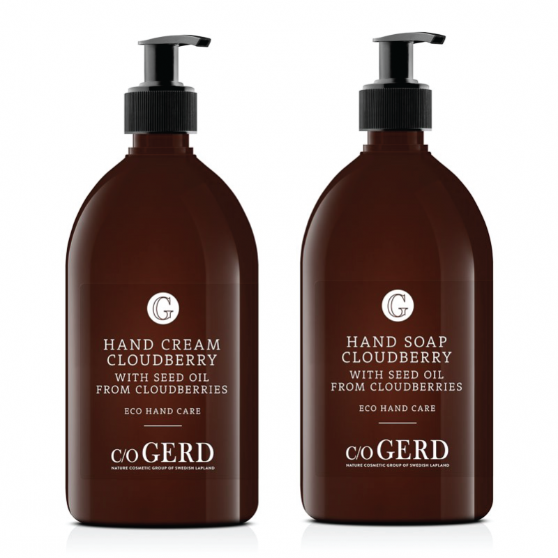 Hand cream+ Hand soap Cloudberry