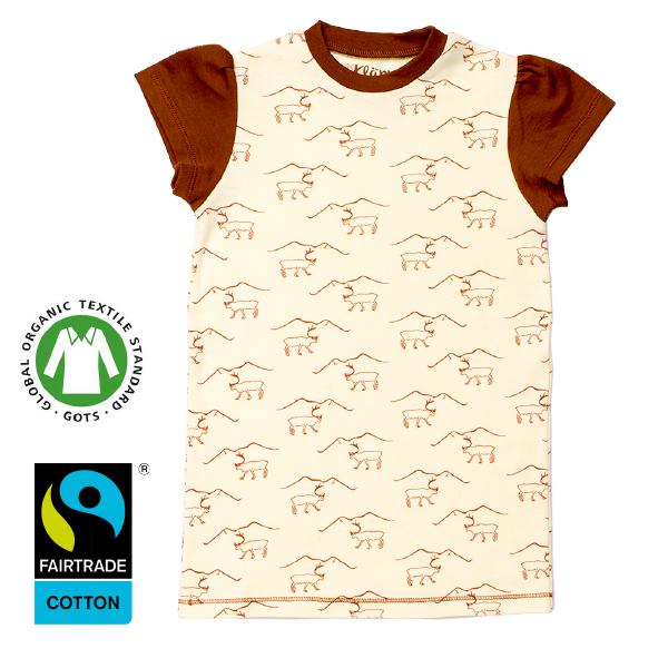 Ekologisk klänning med renar från Kläppi