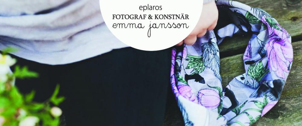 Eplaros- Konstnär och fotograf Emma Jansson