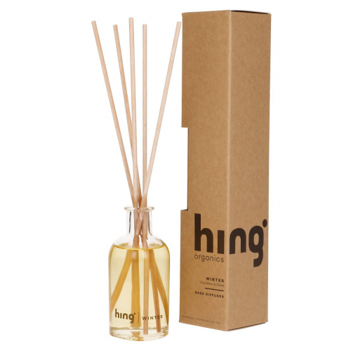 Doftpinnar med ekologiska eteriska oljor från Hing Organics doft av vinter