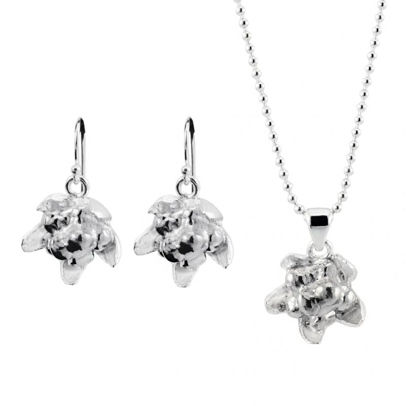 Silversmycke hjortron från Camilla Mustikka setpris