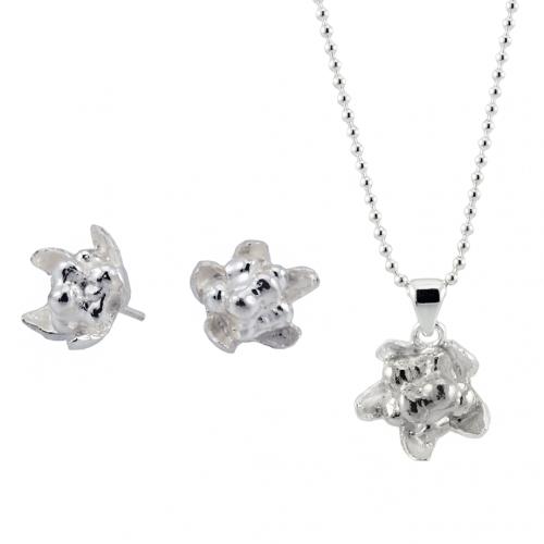 Hjortron silversmycken från Camilla Mustikka setpris