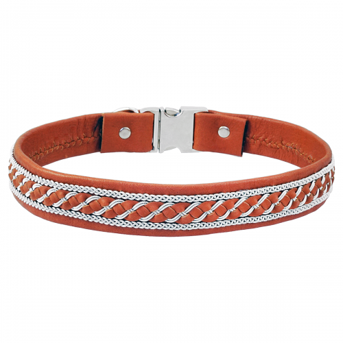Hundhalsband tenntråd Birk