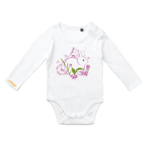 Ekologisk body med rosa hare från Kläppi