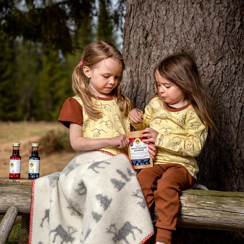 Ekologiska barnkläder designad av Kläppi
