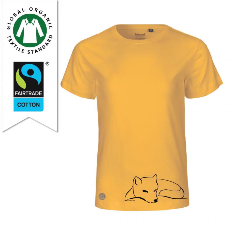 Ekologisk och fairtrade t-shirt i bomull till barn designad av Kläppi