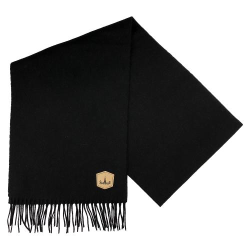 Lemmel halsduk Luspen 100% ull svart