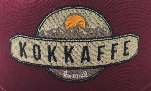 Lemmel- vinröd Kokkaffekeps- brodyr