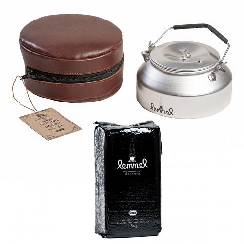 Lemmelkaffe paket kaffepanna + EKO kokkaffe