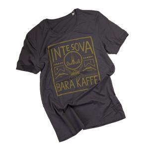 Lemmelkaffe t-shirt av ekologisk bomull och modal med trycket Inte sova bara kaffe