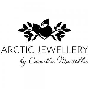 Logotyp Arctic Jewellery by Camilla Mustikka