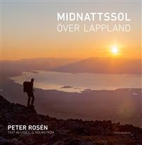 Bok Midnattssol över Lappland