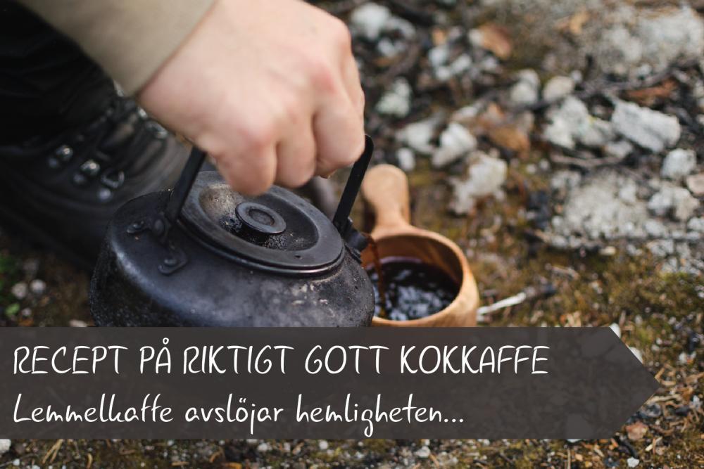 Recept på kokkaffe
