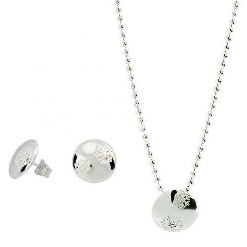 Snöflinga silversmycken från Camilla Mustikka setpris
