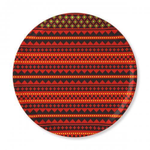 Stoorstålka bricka Sticka 38 cm svart